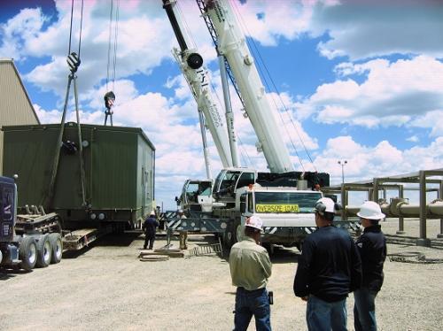 Crane hoisting Compressors