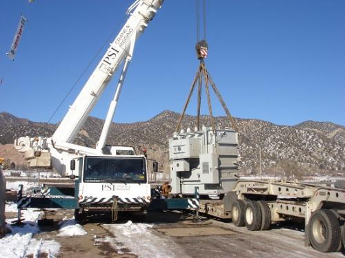 Crane Lifting/ Loading Transformer